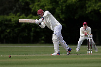 T Cummins in batting action for Wanstead during Brentwood CC vs Wanstead and Snaresbrook CC (batting), Shepherd Neame Essex League Cricket at The Old County Ground on 11th May 2019