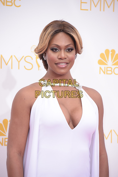 Laverne Cox attends The 66th Primetime Emmy Awards held at Nokia Live in Los Angeles, California on August 25,2014                                                                               &copy; 2014 Hollywood Press Agency<br /> CAP/DVS<br /> &copy;DVS/Capital Pictures