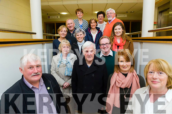 Fleadh Cheoil Chiarrai committee announcing the Official Launch in the Ashe Hotel on Friday May 5th by Pat Joe Dennehy Lixnaw CCE. Pictured Michael O'Shea, Chairman,  Dawn Ui Conchubhair, Sean Seosamh o Conchubhair, John Stack, Melissa Riordan, Eileen Daly, Roisin Rice, Tony O'Connor, Kathleen Hayes, Karen Trench, Kathleen Quinlan, Marion Hussey, John Canty, Charman, KCB, Danielle O Riordan