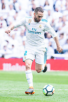 Real Madrid Daniel Carvajal during La Liga match between Real Madrid and Atletico de Madrid at Santiago Bernabeu Stadium in Madrid, Spain. April 08, 2018. (ALTERPHOTOS/Borja B.Hojas) /NortePhoto NORTEPHOTOMEXICO