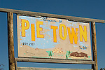 Welcome to Pie Town, New Mex., Est. 1927, El. 8000