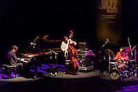 "Albert Sanz, Javier Colina and  Al Foster performing for the ""Jazz festival of Madrid"""
