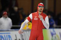 SCHAATSEN: BERLIJN: Sportforum Berlin, 05-12-2014, ISU World Cup, Athur Was (POL), ©foto Martin de Jong