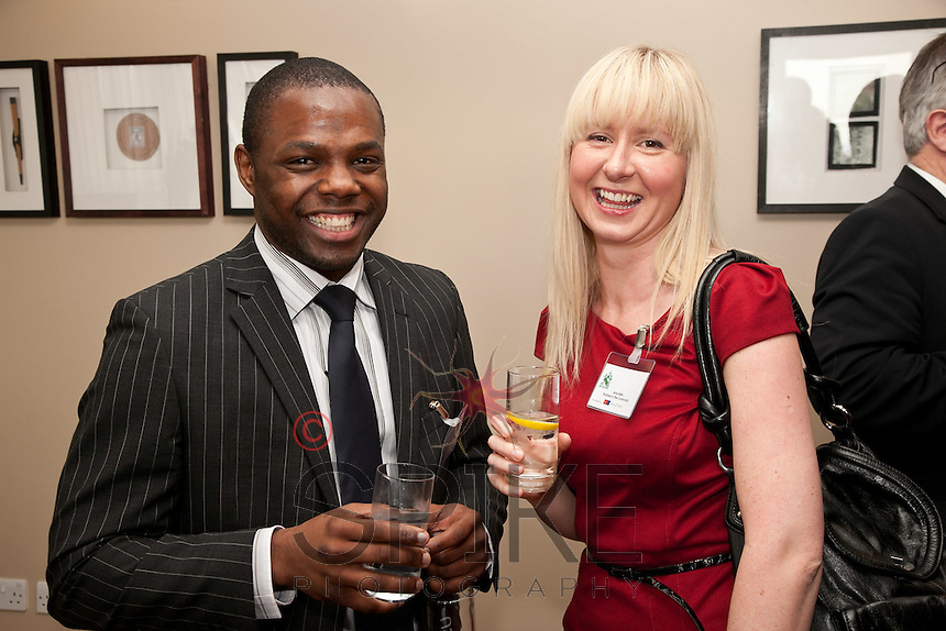 Clinton Walker of Security Aware with Anna Mills of Business in the Community