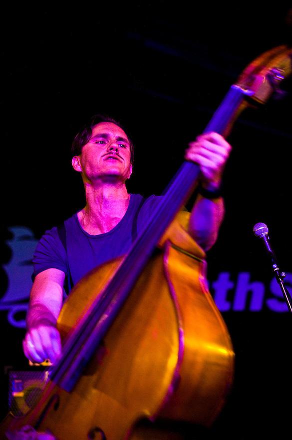 Nederland, Rotterdam, 10 juli  2009.North Sea Jazz festival.Jazzkamikaze.mix van jazz en rock en pop.Foto (c) Michiel Wijnbergh
