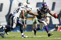 09/11/11 San Diego, CA: Minnesota Vikings defensive back Antoine Winfield #26 during an NFL game played at Qualcomm Stadium between the San Diego Chargers and the Minnesota Vikings. The Chargers defeated the Vikings 24-17.
