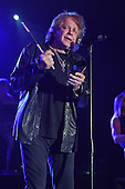 POMPANO BEACH FL - JANUARY 14: Eddie Money performs at The Pompano Beach Amphitheater on January 14, 2017 in Pompano Beach, Florida. Photo by Larry Marano © 2017