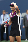 11.09.2011, Flushing Meadows, New York, USA, WTA Tour, US Open, Finale im einzel der Damen, im Bild SAMANTHA STOSUR (AUS) Jubelt nach dem Sieg // SAMANTHA STOSUR (AUS) celebrates after winning during WTA Tour US Open tennis tournament at Flushing Meadows, women singles final, New York, USA on 11/09/2011. EXPA Pictures © 2011, PhotoCredit: EXPA/ Newspix/ Marek Janikowski +++++ ATTENTION - FOR AUSTRIA/(AUT), SLOVENIA/(SLO), SERBIA/(SRB), CROATIA/(CRO), SWISS/(SUI) and SWEDEN/(SWE) CLIENT ONLY +++++