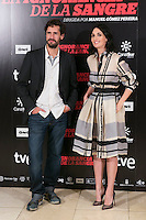"Paz Vega and Juan Diego Botto attends ""La Ignorancia de la Sangre"" presentation at Princesa Cinema in Madrid, Spain. November 13, 2014. (ALTERPHOTOS/Carlos Dafonte)"