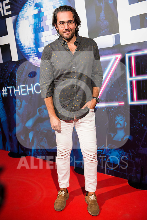 Maxim Huerta attends to the premiere of the The Hole Zero Show at Teatro Calderon in Madrid. October 04, 2016. (ALTERPHOTOS/Borja B.Hojas)