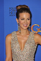 Kate Beckinsale at the 72nd Annual Golden Globe Awards at the Beverly Hilton Hotel, Beverly Hills.<br /> January 11, 2015  Beverly Hills, CA<br /> Picture: Paul Smith / Featureflash