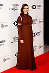 Actress/producer Rachel Weisz arrives at the U.S. premiere of the movie Disobedience, on April 22 2018, during the Tribeca Film Festival in New York City.