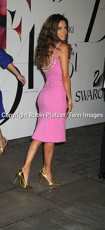 Eva Longoria Parker.posing for photographers at The 2008 CFDA Fashion Awards on June 2, 2008 at The New York Public Library in .New York City. ..Robin Platzer, Twin Images