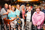 Lisa O'Sullivan from Portmagee on the home leg of her Hen party in Cráineens Bar Cahersiveen on Sunday night after a weekend in Dingle pictured here l-r; Aoife O'Shea, Caroline Clifford, Breda O'Sullivan, Laura Lowney, Lisa O'Sullivan, Cathriona O'Sullivan, Eileen O'Shea & Margaret Curran.
