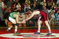 9 February 2005: Josh Brown during wrestling at Burnham Pavilion in Stanford, CA.
