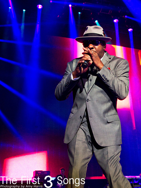 Bobby Brown of New Edition performs at the 2013 Essence Festival at the Mercedes-Benz Superdome in New Orleans, Louisiana.