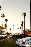 USA, California, San Diego, dusk at Ocean Beach