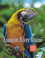 Amazon River Cruise Brochure Cover, Victor Emanuel Nature Tours 2014