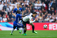 Tottenham Hotspur's Dele Alli is fouled by Chelsea's Ngolo Kante               <br /> <br /> <br /> Photographer Craig Mercer/CameraSport<br /> <br /> Emirates FA Cup Semi-Final - Chelsea v Tottenham Hotspur - Saturday 22nd April 2017 - Wembley Stadium - London<br />  <br /> World Copyright &copy; 2017 CameraSport. All rights reserved. 43 Linden Ave. Countesthorpe. Leicester. England. LE8 5PG - Tel: +44 (0) 116 277 4147 - admin@camerasport.com - www.camerasport.com