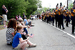 Students from the Hanover High School Band march during the Hanover Memorial Day parade on Monday, May 25, 2015.(Photo by Gary Wilcox)