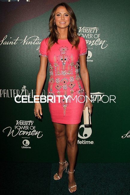 BEVERLY HILLS, CA, USA - OCTOBER 10: Stacy Keibler arrives at the 2014 Variety Power Of Women held at the Beverly Wilshire Four Seasons Hotel on October 10, 2014 in Beverly Hills, California, United States. (Photo by Celebrity Monitor)