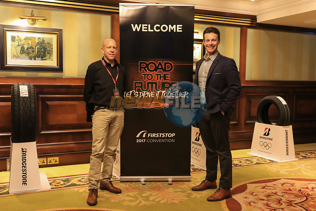 "during the Bridgestone FIRSTSTOP 2017 Convention ""Road to the Future. Let's Drive it together"" at Powerscourt Hotel on Thursday the 23rd March 2017."