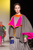 23 May 2013, London, UK. Womenswear by Chloe Bayles. The BA (Hons) Fashion Design students show their collections at the University of Westminster Graduate Fashion Show. Photo: CatwalkFashion/Alamy Live News