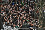 10.03.2018, BayArena, Leverkusen , GER, 1.FBL., Bayer 04 Leverkusen vs. Borussia Moenchengladbach<br /> im Bild / picture shows: <br /> Fans  Gladbacher <br /> <br /> <br /> Foto © nordphoto / Meuter