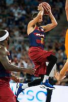 HerFC Barcelona Lassa player Juan Carlos Navarro during the final of Supercopa of Liga Endesa Madrid. September 24, Spain. 2016. (ALTERPHOTOS/BorjaB.Hojas) NORTEPHOTO.COM