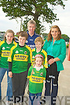 Timmy, Mary, Karol, Aidan, Sean and Sarah Fleming on their way to watch the big game on Sunday.   Copyright Kerry's Eye 2008