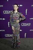 www.acepixs.com<br /> <br /> February 21 2017, LA<br /> <br /> Actress Lily Collins arriving at the 19th CDGA (Costume Designers Guild Awards) at The Beverly Hilton Hotel on February 21, 2017 in Beverly Hills, California. <br /> <br /> By Line: Famous/ACE Pictures<br /> <br /> <br /> ACE Pictures Inc<br /> Tel: 6467670430<br /> Email: info@acepixs.com<br /> www.acepixs.com