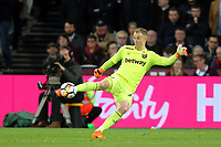 Joe Hart of West Ham during West Ham United vs Stoke City, Premier League Football at The London Stadium on 16th April 2018