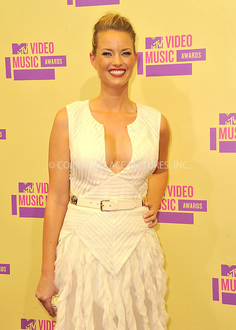 WWW.ACEPIXS.COM....September 6, 2012, Los Angeles, CA.....Christine Scott Bennett arriving at the 2012 MTV Video Awards at the Staples Center on September 6, 2012 in Los Angeles, California. ..........By Line: Peter West/ACE Pictures....ACE Pictures, Inc..Tel: 646 769 0430..Email: info@acepixs.com