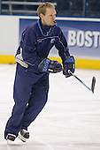 Tim Whitehead - The University of Maine Black Bears practiced on Wednesday, April 5, 2006, at the Bradley Center in Milwaukee, Wisconsin, in preparation for their April 6 2006 Frozen Four Semi-Final game versus the University of Wisconsin.