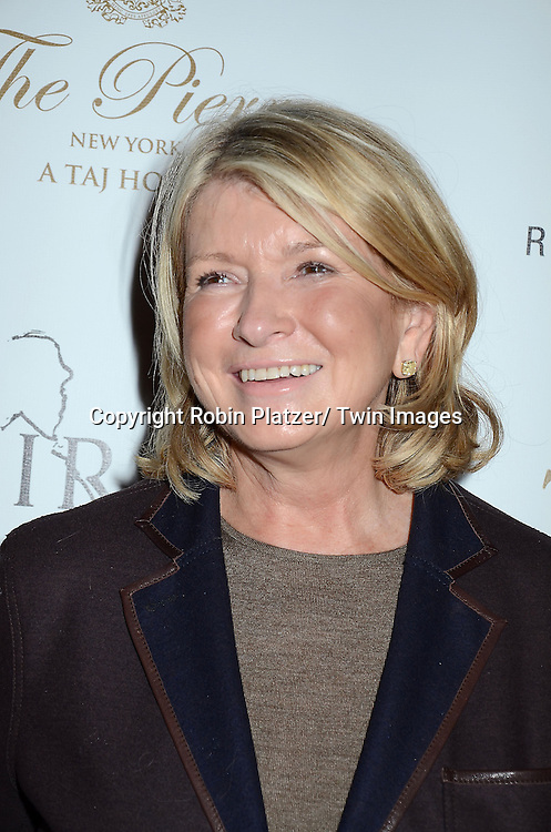 Martha Stewart attends the Sirio Ristorante New York opening in the Pierre Hotel, a TAJ Hotel on October 24, 2012 in New York City. Sirio Maccioni hosted the party