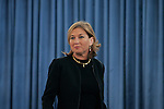 Israel's Ministry of Foreign Affairs holds a farewell ceremony for outgoing foreign minister Tzipi Livni (pictured), Jerusalem, March 30, 2009. Livni will head the opposition in the next government led by Binyamin Netanyahu. Photo by: Olivier Fitoussi/JINI.