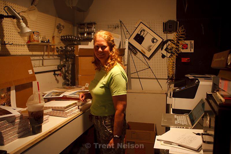 Ann Torrence, printing for Snappola, Utah, Tuesday, September 27, 2011.