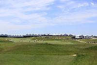The 1st  hole during Thursday's Round 1 of the 117th U.S. Open Championship 2017 held at Erin Hills, Erin, Wisconsin, USA. 15th June 2017.<br /> Picture: Eoin Clarke | Golffile<br /> <br /> <br /> All photos usage must carry mandatory copyright credit (&copy; Golffile | Eoin Clarke)