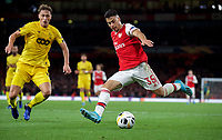 Gabriel Martinelli of Arsenal during the UEFA Europa League match between Arsenal and Standard Liege at the Emirates Stadium, London, England on 3 October 2019. Photo by Andrew Aleks.