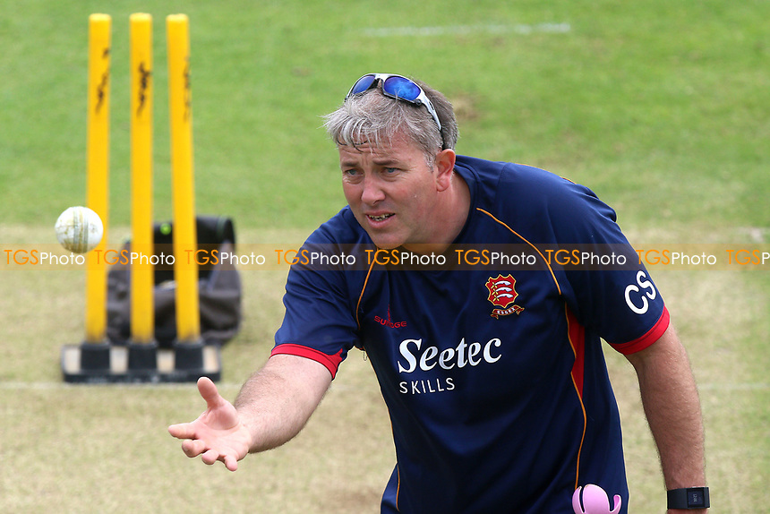 Essex head coach Chris Silverwood during Kent Spitfires vs Essex Eagles, Royal London One-Day Cup Cricket at the St Lawrence Ground on 17th May 2017