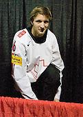 Benjamin Antonietti (Switzerland - 16) - Team Switzerland defeated Team Latvia 7-5 on Wednesday, December 30, 2009, at the Credit Union Centre in Saskatoon, Saskatchewan, during the 2010 World Juniors tournament.