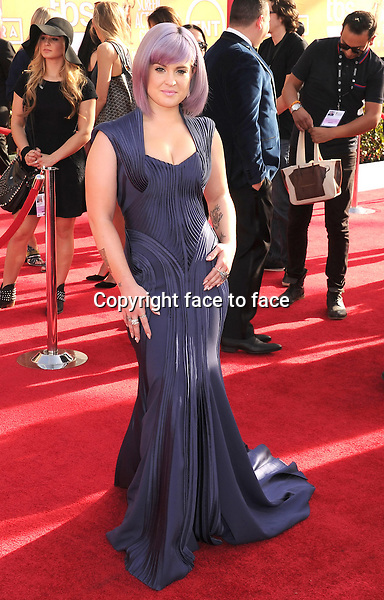 LOS ANGELES, CA- JANUARY 18: TV personality Kelly Osbourne arrives at the 20th Annual Screen Actors Guild Awards at The Shrine Auditorium on January 18, 2014 in Los Angeles, California.<br />
