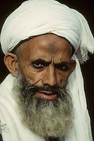 A Muslim man in Lahore. (1996)