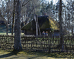The Latvian Open-Air Ethnographic Museum, Riga, May 2013.<br /> <br /> A traditional house in the museum is soon to be renovated thanks to the EEA funds.