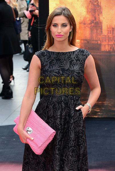 LONDON, ENGLAND - MAY 11:  Ferne McCann attends Godzilla UK film premiere, remake of action adventure, featuring the iconic film monster that terrorises Japan, at Odeon Leicester Square, 24-26 Leicester Square, on May 11, 2014, in London, England.  <br /> CAP/JOR<br /> &copy;Nils Jorgensen/Capital Pictures
