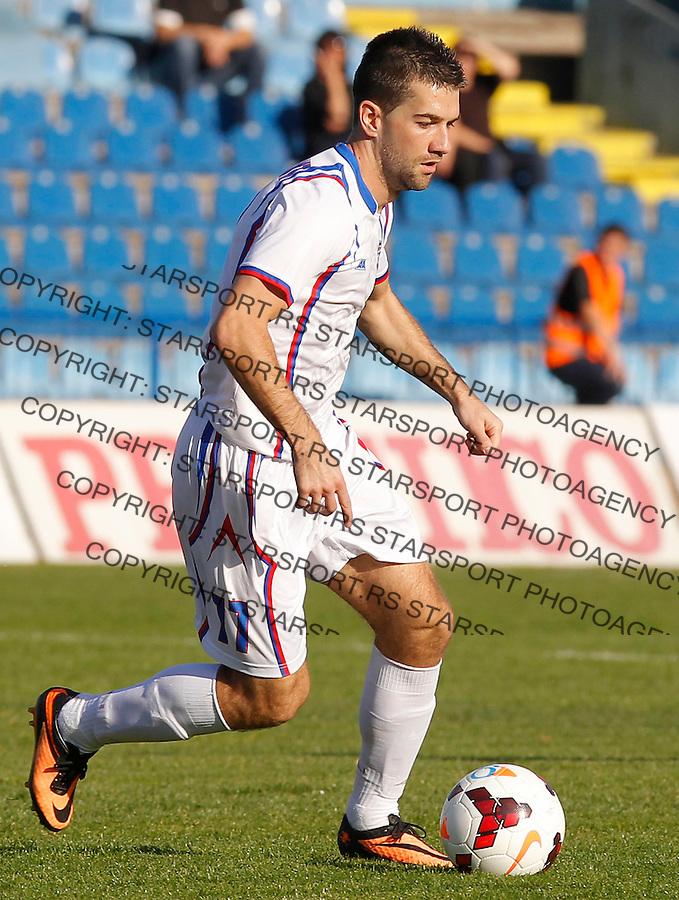 Fudbal Super liga season 2013-2014<br /> Ofk Beograd v Jagodina<br /> Jovan Vucinic<br /> Beograd, 09.11.2013.<br /> foto: Srdjan Stevanovic/Starsportphoto &copy;