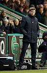 08.03.2019 Hibs v Rangers: Steven Gerrard
