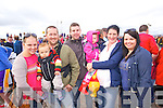 Lucy O'Sullivan with Max and David O'Sullivan, James O'Shea Ellie O'Shea and Geraldine O'Shea with Amy Falvey (all Glenbeigh) pictured at Glenbeigh races on Sunday last.