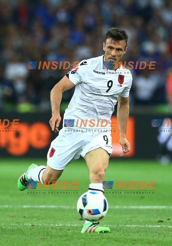 Bekim Balaj Albania<br /> Marseille 15-06-2016 Stade Velodrome Footballl Euro2016 France - Albania / Francia - Albania Group Stage Group A. Foto Matteo Ciambelli / Insidefoto