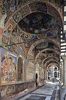 BG41181.JPG BULGARIA, RILA MONASTERY, CHURCH OF NATIVITY, frescoes